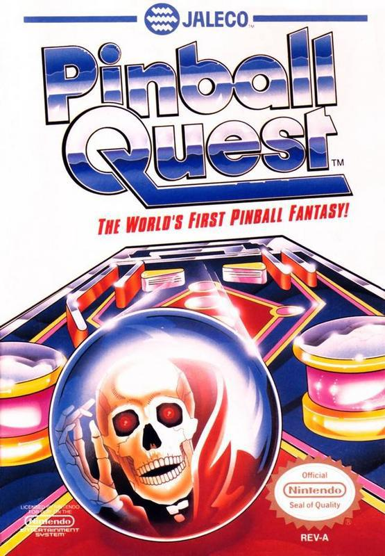 Pinball Quest - Nintendo Entertainment System