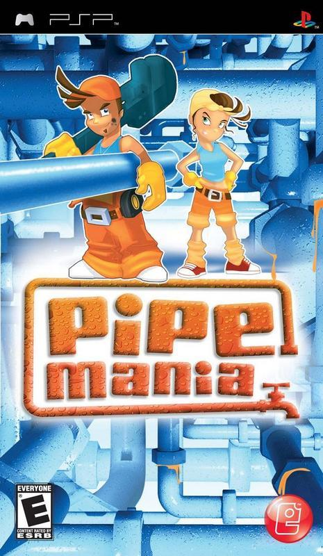 Pipe Mania - PlayStation Portable