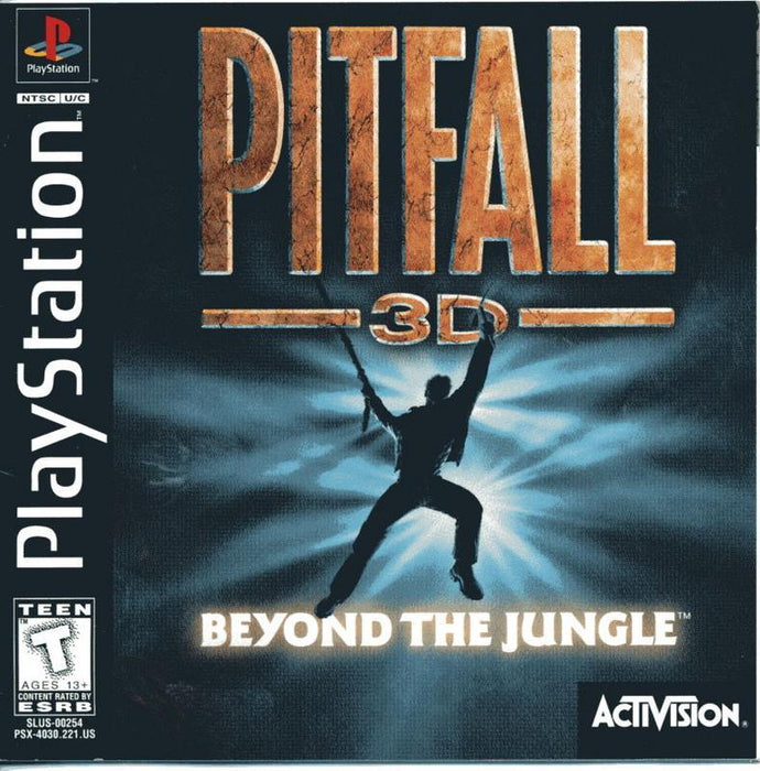 Pitfall 3D Beyond the Jungle - PlayStation 1