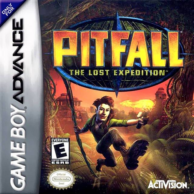 Pitfall The Lost Expedition - Game Boy Advance