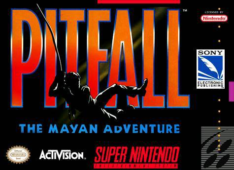 Pitfall The Mayan Adventure - Super Nintendo Entertainment System