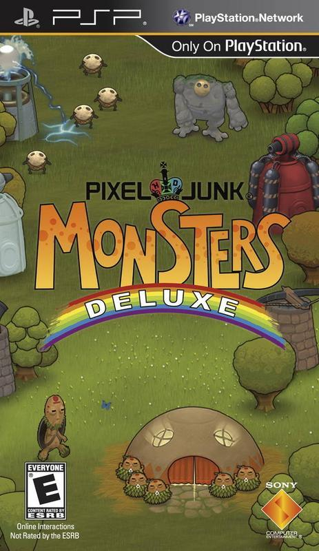 PixelJunk Monsters Deluxe - PlayStation Portable