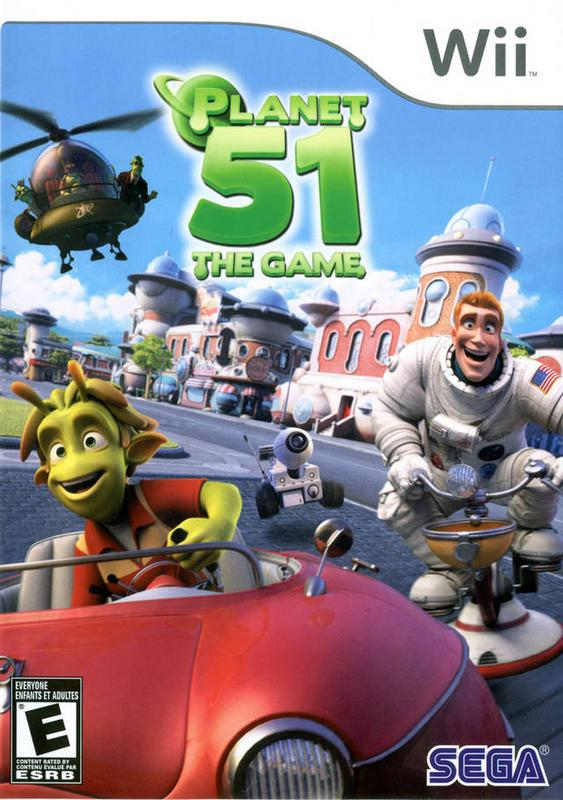 Planet 51 The Game - Wii