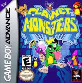 Planet Monsters - Game Boy Advance