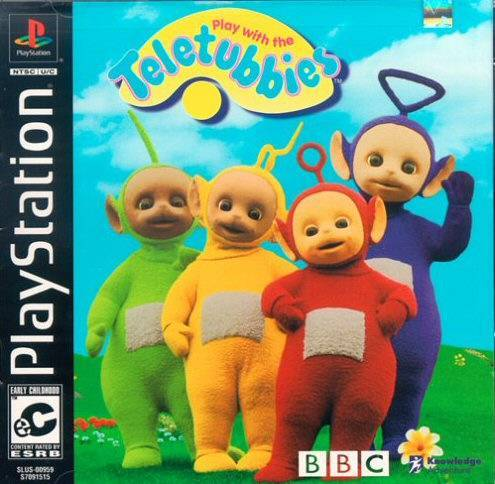Play with the Teletubbies - PlayStation 1