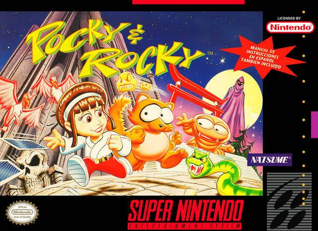 Pocky & Rocky - Super Nintendo Entertainment System