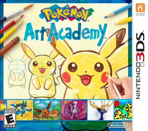 Pokemon Art Academy - Nintendo 3DS