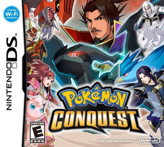 Pokemon Conquest - Nintendo DS
