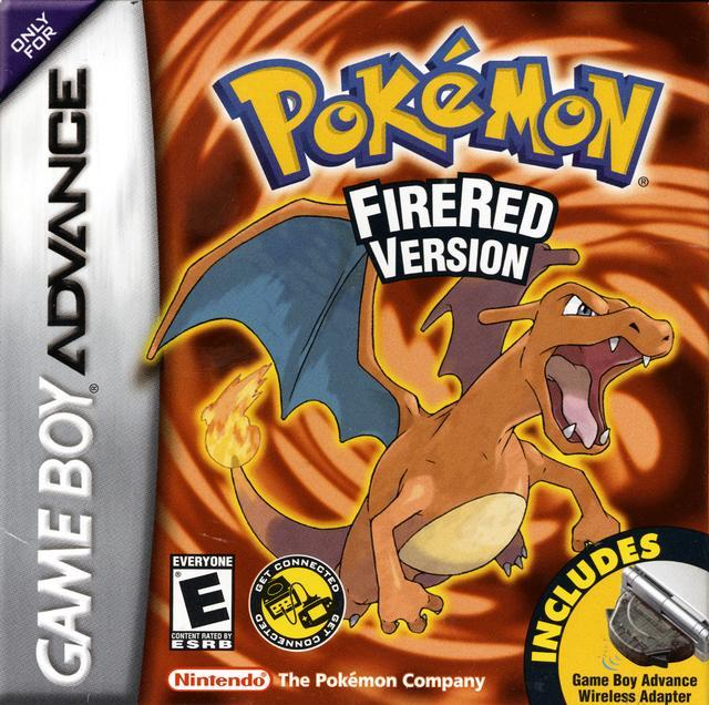 Pokemon FireRed Version - Game Boy Advance