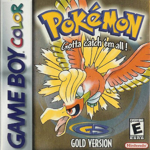 Pokemon Gold Version - Game Boy Color
