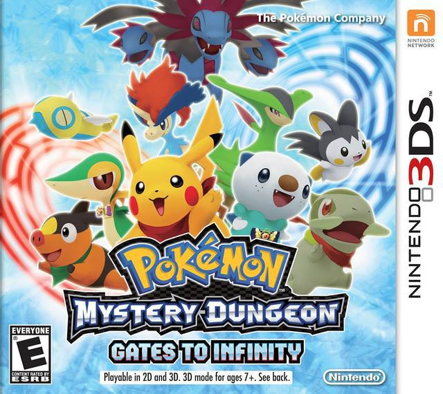 Pokemon Mystery Dungeon Gates to Infinity - Nintendo 3DS