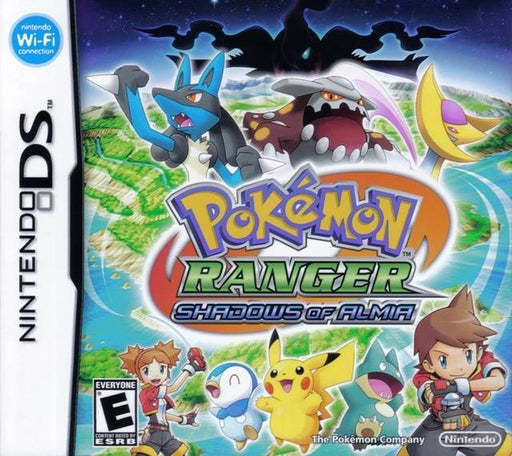 Pokemon Ranger Shadows of Almia - Nintendo DS