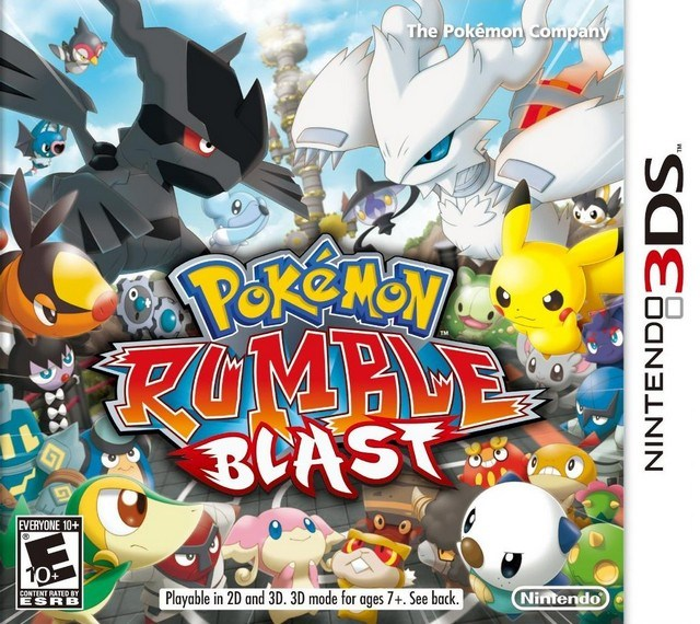 Pokemon Rumble Blast - Nintendo 3DS