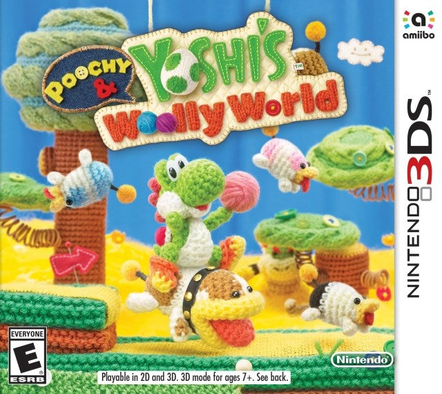 Poochy & Yoshis Woolly World - Nintendo 3DS