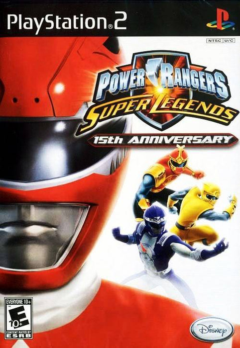 Power Rangers Super Legends - 15th Anniversary - PlayStation 2