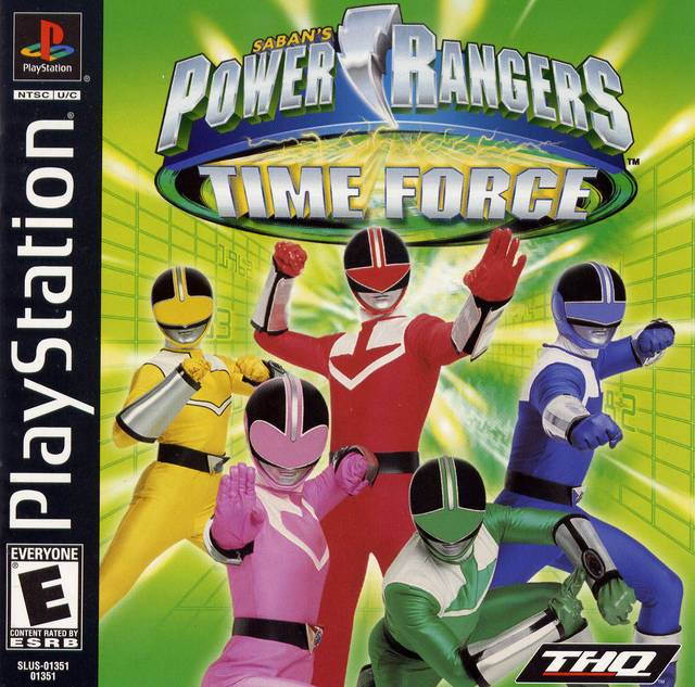 Power Rangers Time Force - PlayStation 1