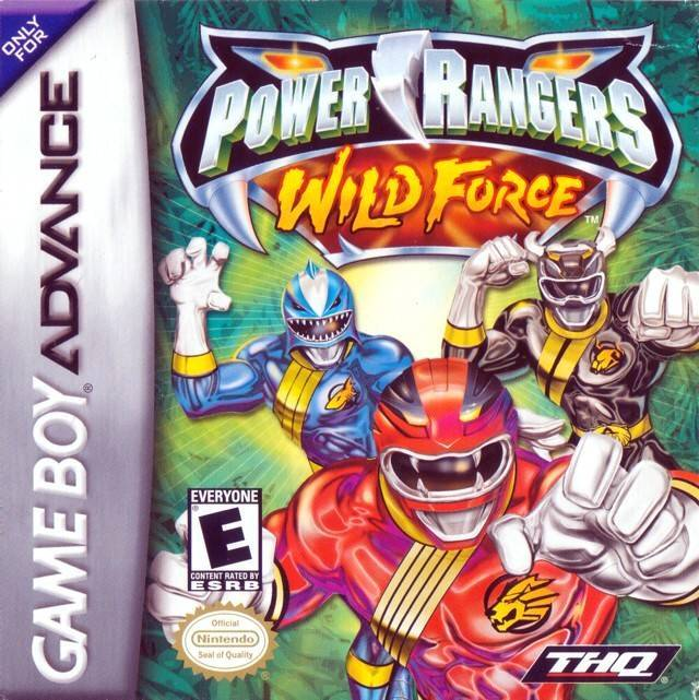 Power Rangers Wild Force - Game Boy Advance