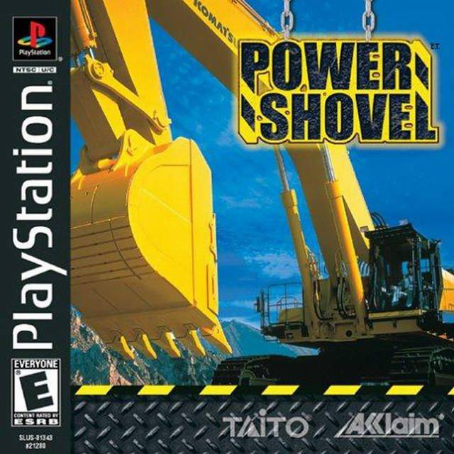 Power Shovel - PlayStation 1