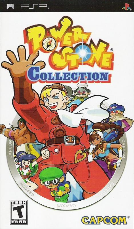 Power Stone Collection - PlayStation Portable