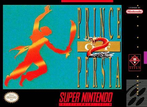 Prince of Persia 2 The Shadow and the Flame - Super Nintendo Entertainment System