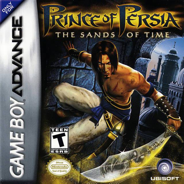 Prince of Persia The Sands of Time - Game Boy Advance