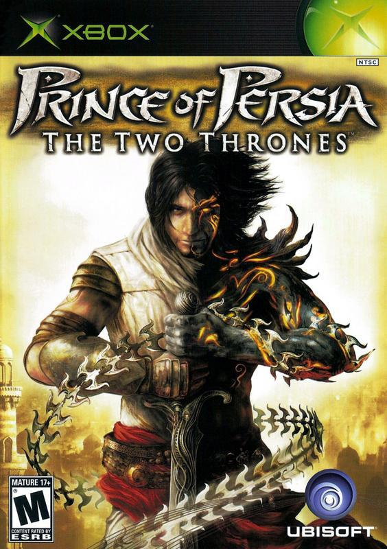 Prince of Persia The Two Thrones - Xbox