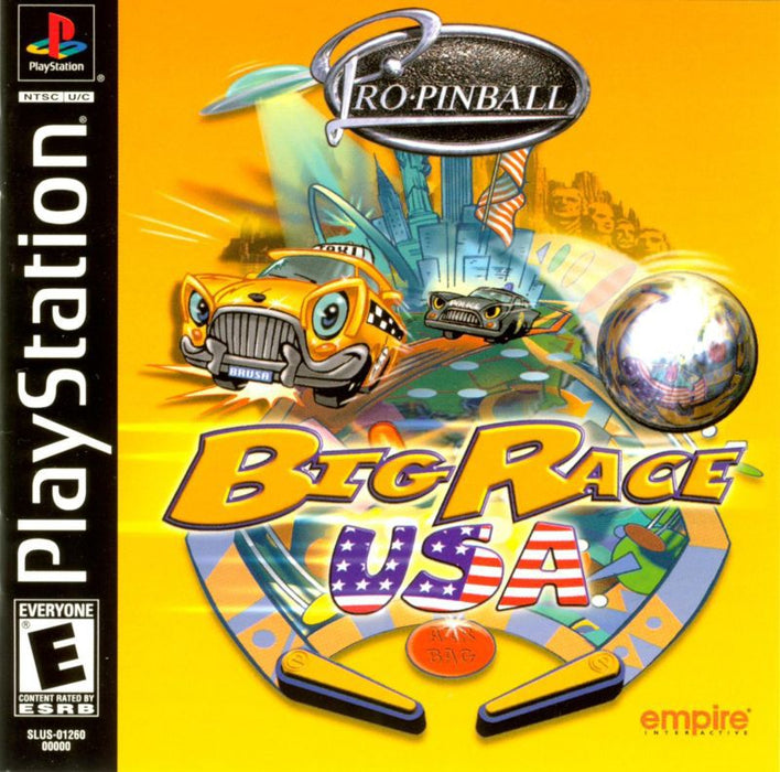 Pro Pinball Big Race USA - PlayStation 1