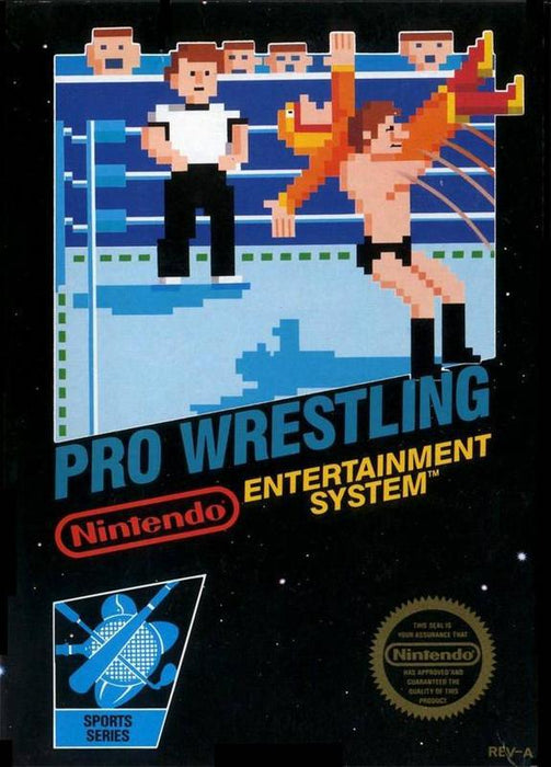 Pro Wrestling - Nintendo Entertainment System
