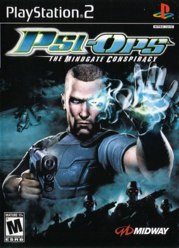 Psi-Ops The Mindgate Conspiracy - PlayStation 2