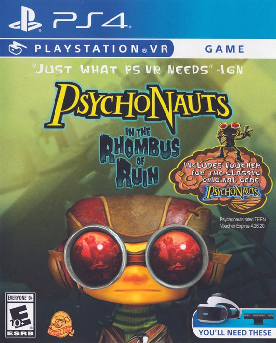 Psychonauts in The Rhombus of Ruin - PlayStation 4