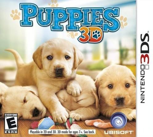 Puppies 3D - Nintendo 3DS