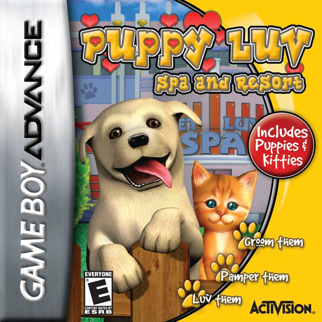 Puppy Luv Spa and Resort - Game Boy Advance