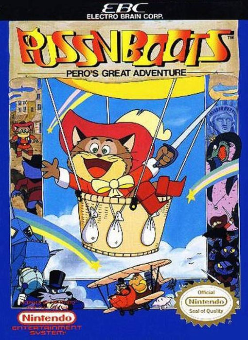 Puss N Boots Peros Great Adventure - Nintendo Entertainment System