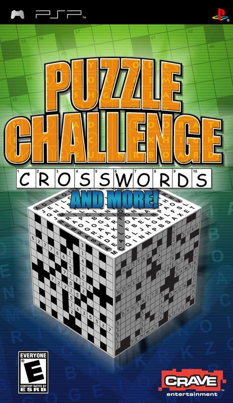 Puzzle Challenge Crosswords and More - PlayStation Portable