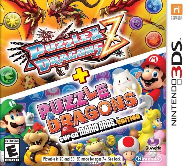 Puzzle & Dragons Z + Puzzle & Dragons Super Mario Bros. Edition - Nintendo 3DS