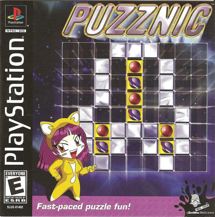 Puzznic - PlayStation 1