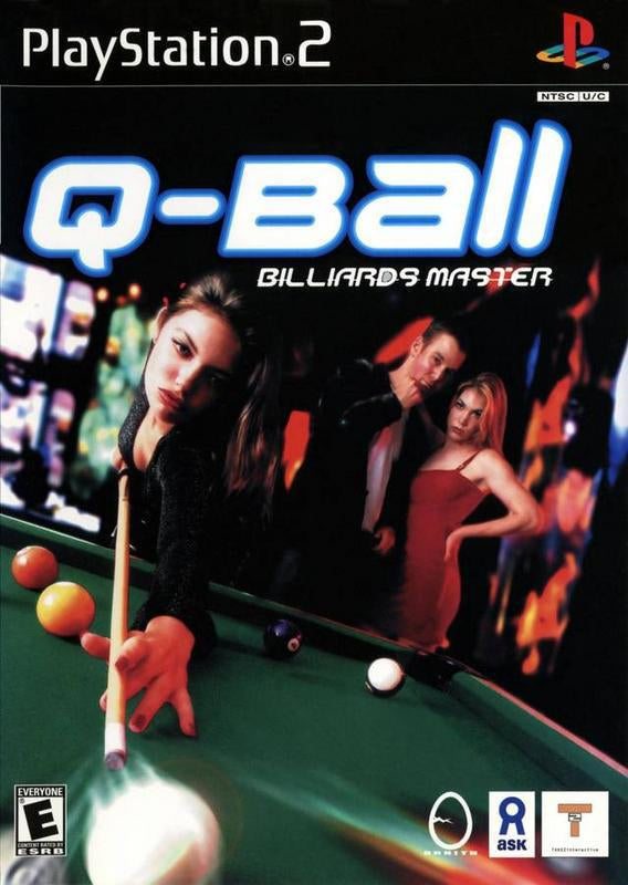 Q-Ball Billiards Master - PlayStation 2