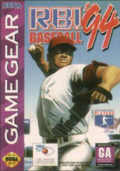 R.B.I. Baseball 94 - Sega Game Gear