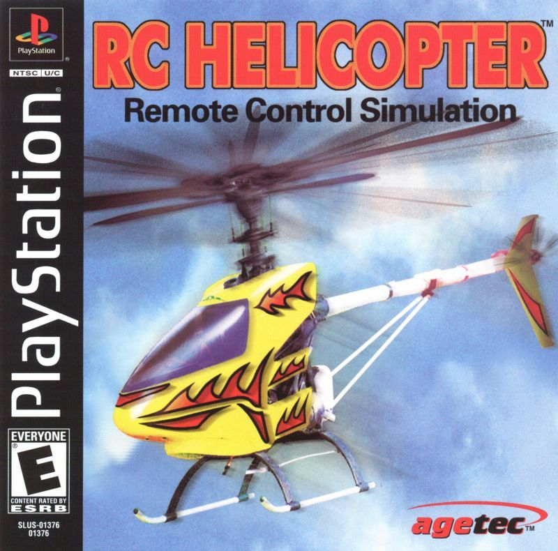 RC Helicopter - PlayStation 1
