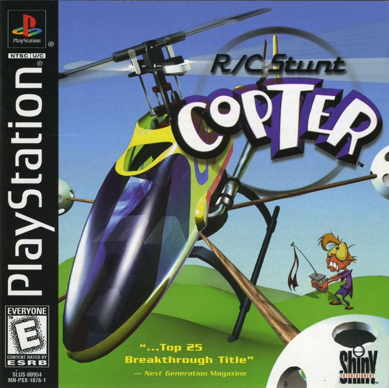 RC Stunt Copter - PlayStation 1