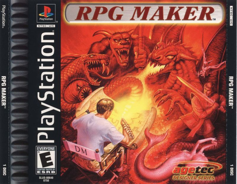 RPG Maker - PlayStation 1
