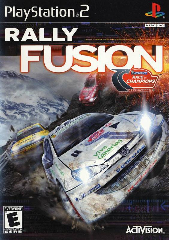 Rally Fusion Race of Champions - PlayStation 2