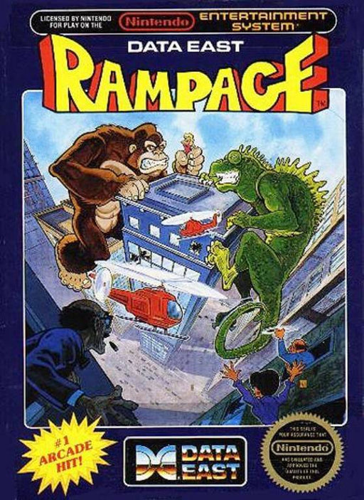 Rampage - Nintendo Entertainment System