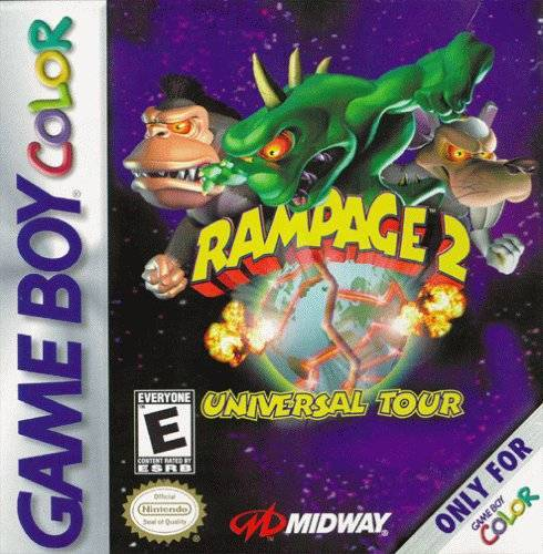 Rampage 2 Universal Tour - Game Boy Color
