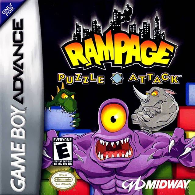 Rampage Puzzle Attack - Game Boy Advance