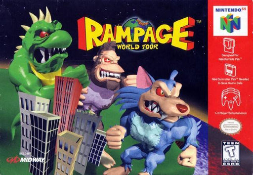 Rampage World Tour - Nintendo 64
