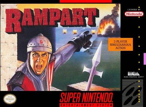 Rampart - Super Nintendo Entertainment System