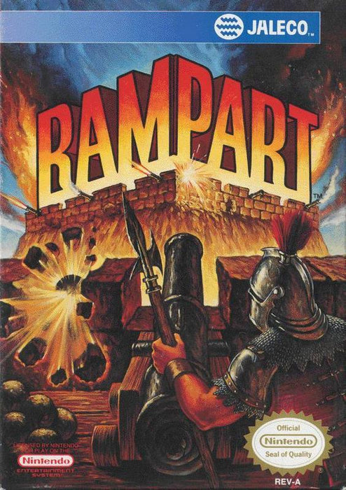 Rampart - Nintendo Entertainment System