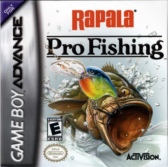 Rapala Pro Fishing - Game Boy Advance