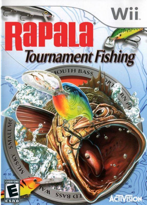 Rapala Tournament Fishing - Wii